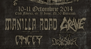 Manilla Road at Old Grave Fest