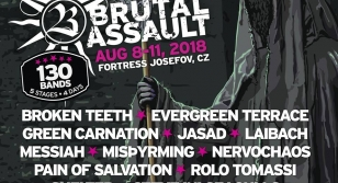 Brutal Assault 23 - Laibach, Messiah, etc